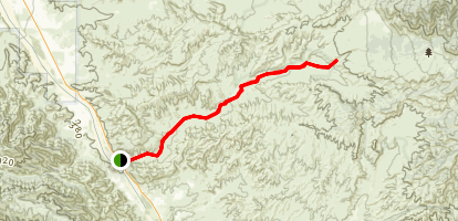 Apache Canyon Road Map