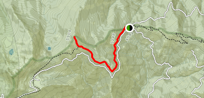 Cook and Green Butte Trail Map