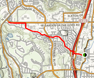 Sinton Trail Map