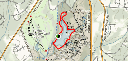 Swan Lake Trail Map