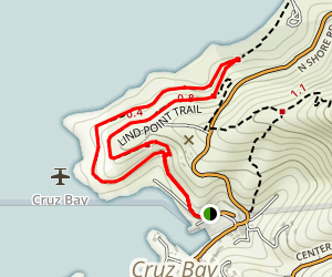 Lind Point Trail Map