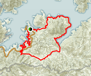 Clikapudi Bay and Creek Map