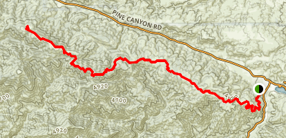 Sawmill Mountain Truck Trail Map