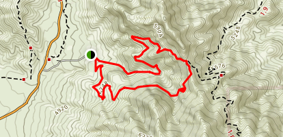 Franklin Mountains Loop Map