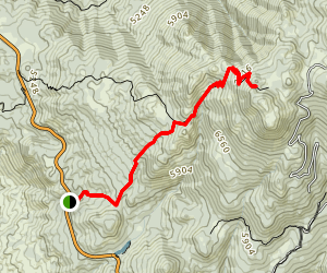 Cinco Poses Trail Map