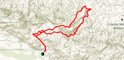 The Domelands Trail Map