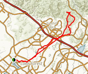 Serrano Creek Trail Map