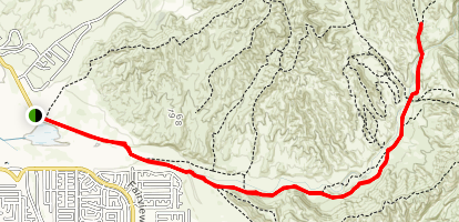 Indian Creek Truck Trail Map