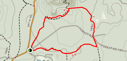 Country Club Trail Map