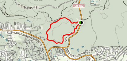Springs Trail Map