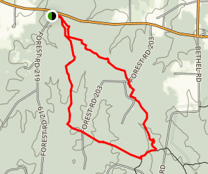 Little Lake Creek Loop Trail Map