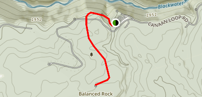 Balanced Rock Trail Map