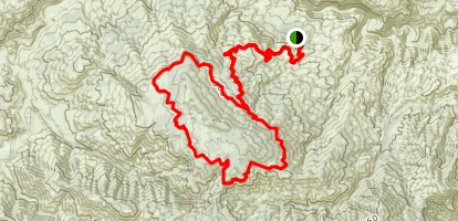 Alamo Mountain Loop Map