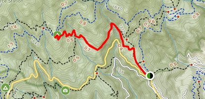 Nora Trail Map