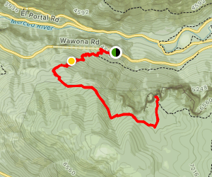 Stanford Point Trail Map