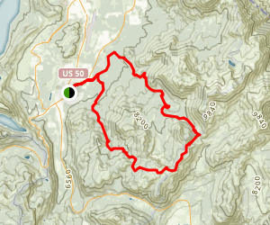 Armstrong Pass Map