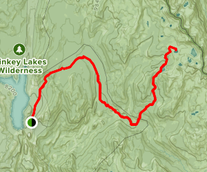 Disappointment Lake Trail Map