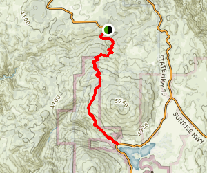 Kelly Ditch Trail Map