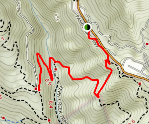 Alice Eastwood Trail Map