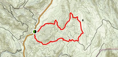 Dyar Springs Trail Map