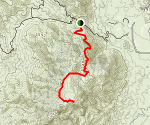 Cahuilla Mountain Trail Map