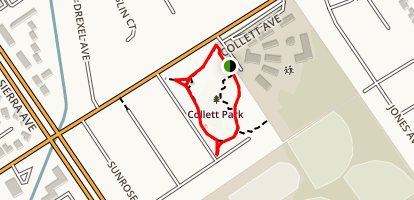 Collett Park Map