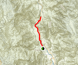 Whiskey Flat Trail Map