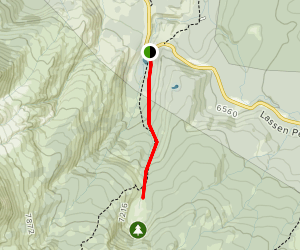 Paradise Meadow Trail Map