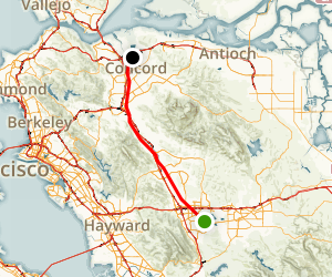 Iron Horse Regional Trail Map