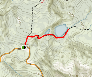 Shadow Lake Trail Map