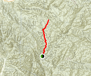 Bear Canyon Trail Map