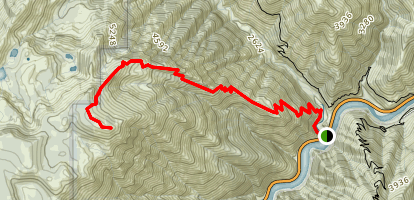 Ben Lomond Trail Map