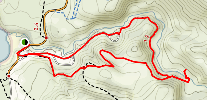 Reservoir Flats Loop Trail Map