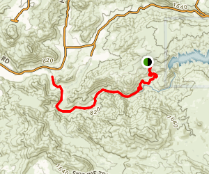 Sloane Canyon Trail Map