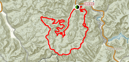 Sand Gap Loop Map