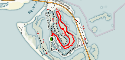 Black Island Trail Map