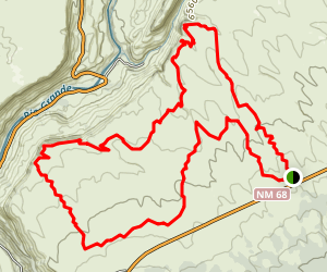Rift Valley Loop Trail Map