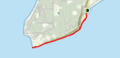 Useless Bay Tidelands Map