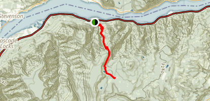 Wyeth Trail (CLOSED) Map