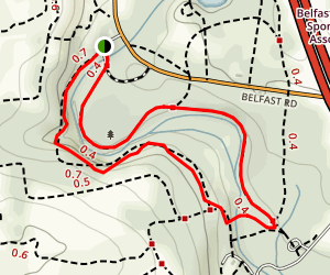 Henry's Woods Trail Map