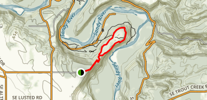 Oxbow Park Campground Map