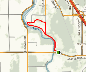 Tennant Lake Trail Map