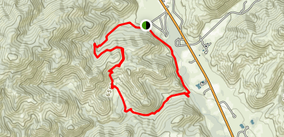 Chocolate Gulch Trail Map