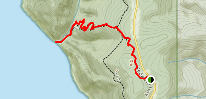 Damnation Creek Trail Map