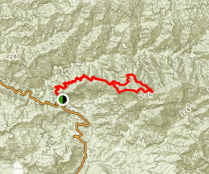 Mendenhall Ridge Loop Trail Map
