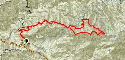 Mendenhall Ridge Loop Trail (CLOSED) Map