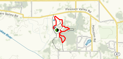 Pleasant Valley Nature Trail Map