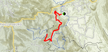 Meadowlark and Plymouth Creek Trails Map
