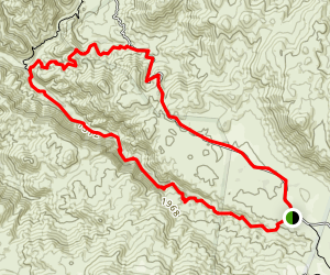 Tenaja Truck Trail Map