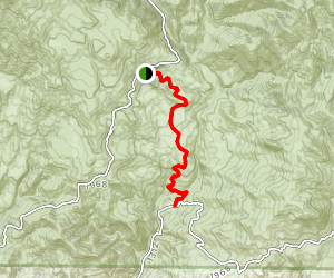 Happy Canyon Road Trail Map